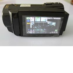 HDV Camcorder 16.0 megapixels Digital Camcorder with Touch Pannel Video Camera (HDV-502PT)